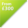 from £300